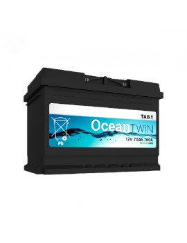 BATERIA TAB OCEAN TWIN 60 AGM